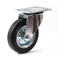 Колеса с поворотным кронштейном с площадкой 160 мм Польша