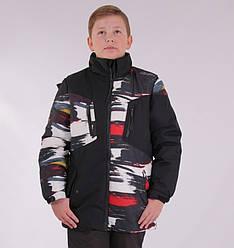 Детский зимний комбинезон для мальчика от Skorpian 2315, 134-164