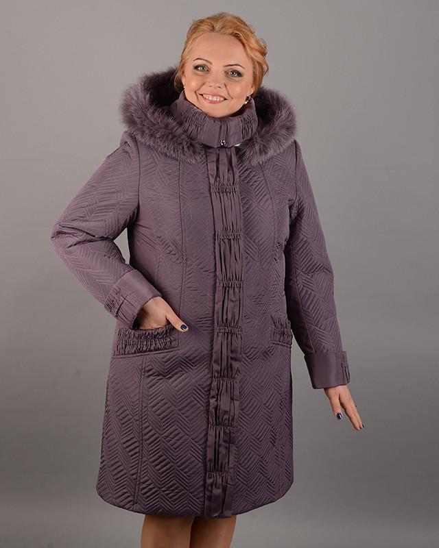 Пальто женское зимнее 3589 размер 50-60