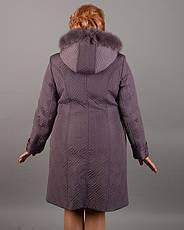Пальто женское зимнее 3589 размер 50-60, фото 2