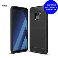 Защитный чехол iPaky Slim с карбоновыми вставками для Asus Zenfone 4 Selfie (ZB553KL / ZD553KL) черный