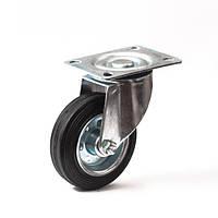 Колеса с поворотным кронштейном с площадкой 100 мм Польша