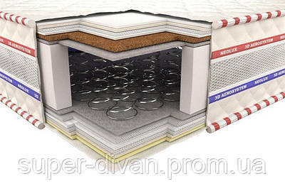 Ортопедический матрас 3D Гранд Ультра Кокос Зима-лето 90х200