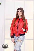 Женская куртка / плащевка, синтепон 100 / Украина, фото 1