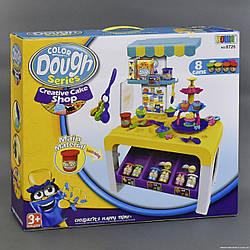 Игровой набор для лепки Кухня 8726 с набором пластилина, Размер упаковки:54 см × 13 см × 47 см