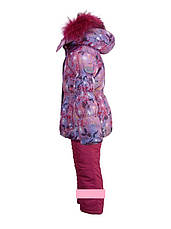 Детский зимний комбинезон для девочки Diwa Club (аналог Кико)  2214 размеры 80-104, фото 2