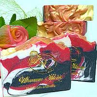"""Мыло подарочное натуральное ручной работы для мужчин с маслом ши """"Черный галстук""""., фото 1"""
