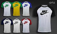 Качественная городская футболка без рукавов найк аир макс Nike Air