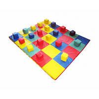 Спортивный мат-коврик Кубики 120-120-3 см