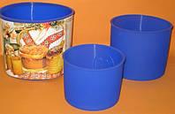 Набор силиконовых форма для выпечки Пасок (3шт)