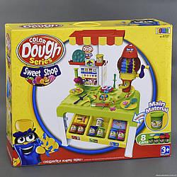 Игровой набор для лепки Кухня 8727 с набором пластилина, размер упаковка:58 см × 15 см × 47 см