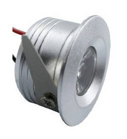 Світильник точковий міні LED LD - 3W 4200K срібло