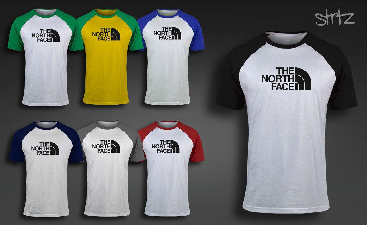 Мужская футболка спортивная зе норс фэйс The North Face