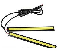 Дневные ходовые огни, 2x6 Вт, DRL LED длинные 17см