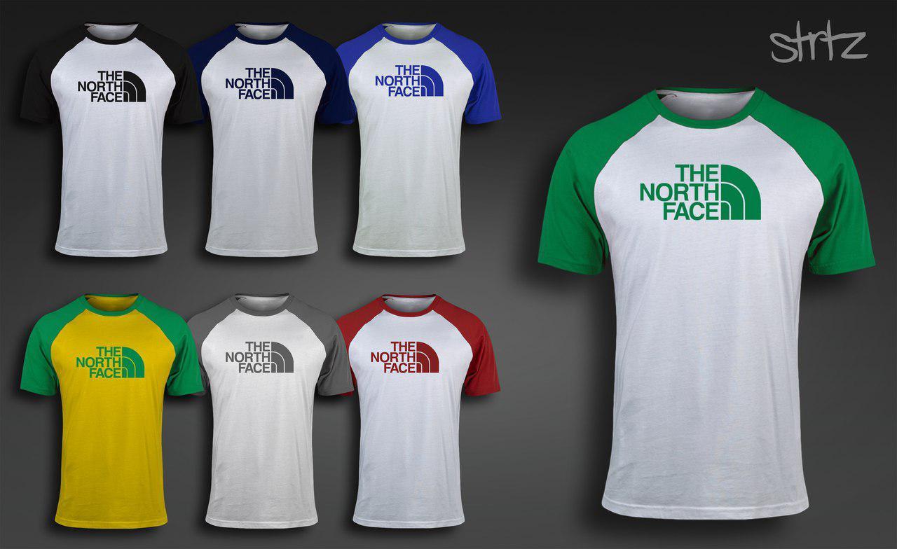 Молодежная футболка спортивная зе норс фэйс The North Face