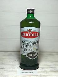 Оливковое масло Bertolli Robusto extra vergine 1л