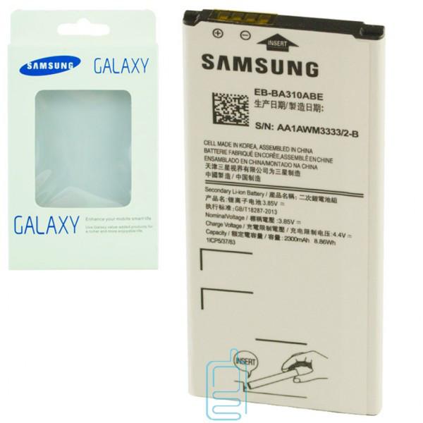 Аккумулятор Samsung EB-BA310ABE 2300 mAh A3 2016 A310 AAA класс коробка