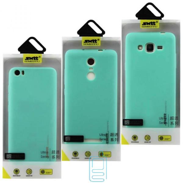 Чехол силиконовый SMTT Samsung Note 8 N950 бирюзовый