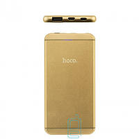 Power Bank Hoco UPB03 6000 mAh (High copy) золотистый
