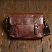 Мужская кожаная сумка-портфель. Модель с10, фото 1