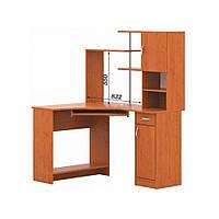 Кутовий комп'ютерний стіл СКУ-01 + Н-17 з надставкою, фото 1