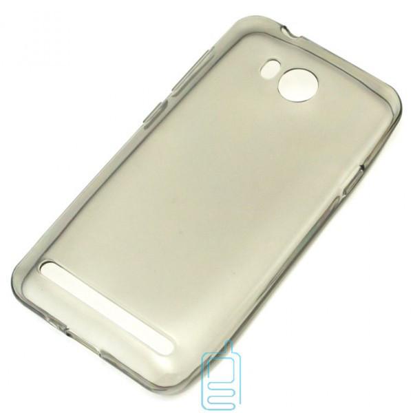 Чехол силиконовый Premium Huawei Y3 II зетемненный