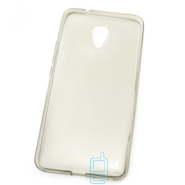 Чехол силиконовый Premium Meizu M5s затемненный