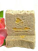 Мыло- скраб ручной работы для ног с экстрактом грецкого ореха и ноготка.