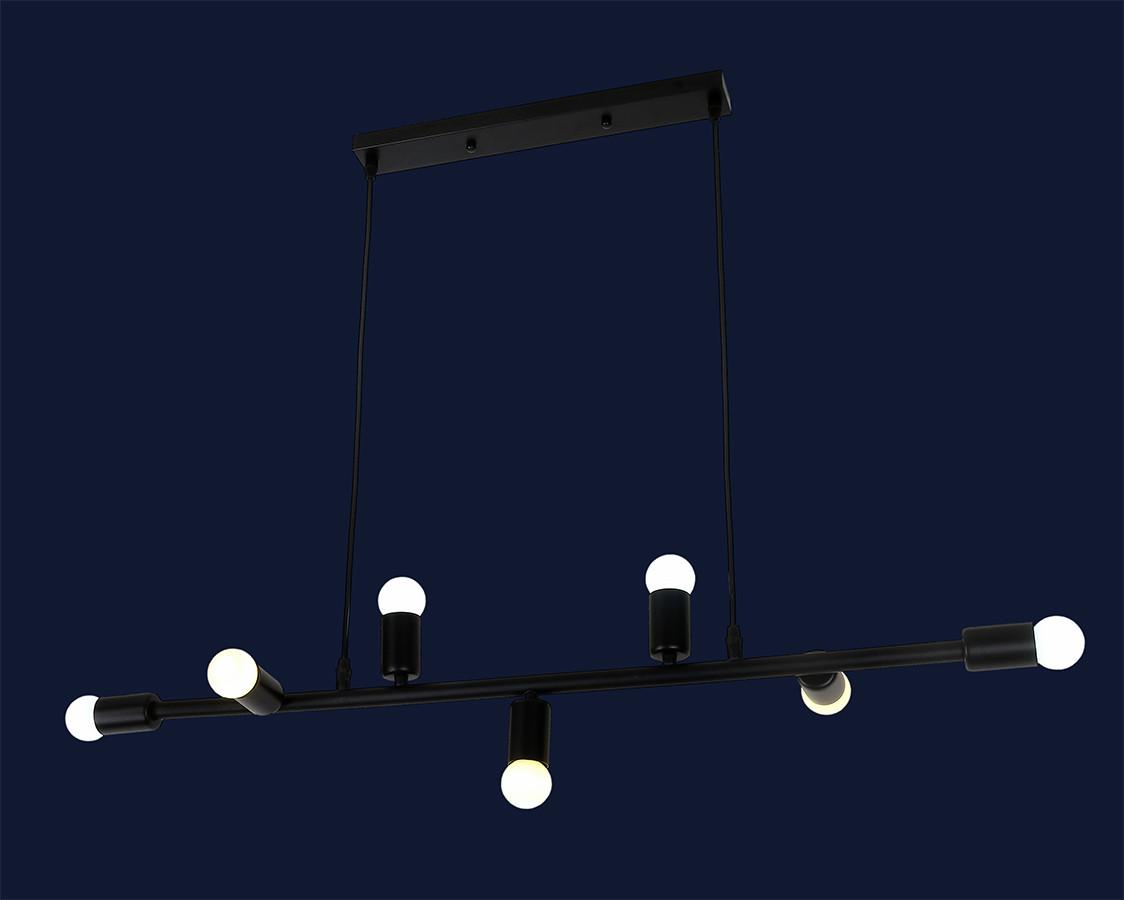 Светильник подвесной LOFT L61SX07-7 BK