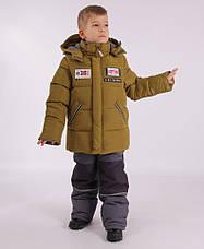 Детский зимний комбинезон для мальчика KIKO 4606, 104-128, фото 3