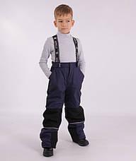 Дитячий зимовий комбінезон для хлопчика термо KIKO 4640, 110-128, фото 3