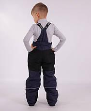Дитячий зимовий комбінезон для хлопчика термо KIKO 4640, 110-128, фото 2