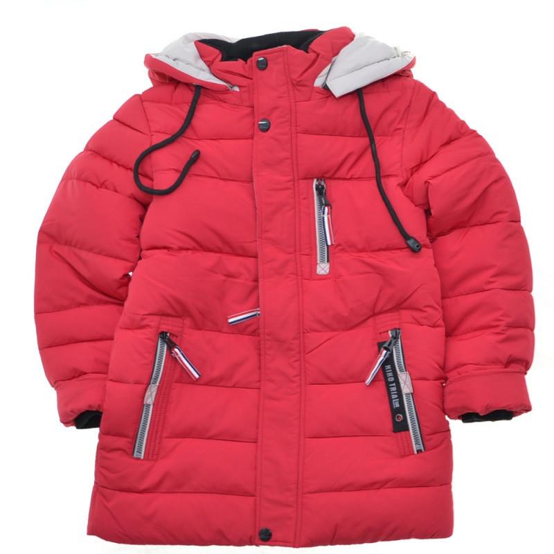 Детская зимняя куртка для мальчика Кико 4236 Оригинал! на рост 128, последний размер