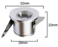 Светильник  точечный мини LED LDB- 3W 4200K черный, фото 2