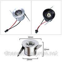 Светильник  точечный мини LED LDB- 3W 4200K черный, фото 3