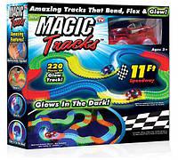 Magic Tracks (Мэджик Трек) 220 деталей, светящаяся трасса - супер оффер