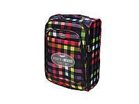 Легкий тканевый чемодан малого размера на 2-х колесах Foxy Line Morena