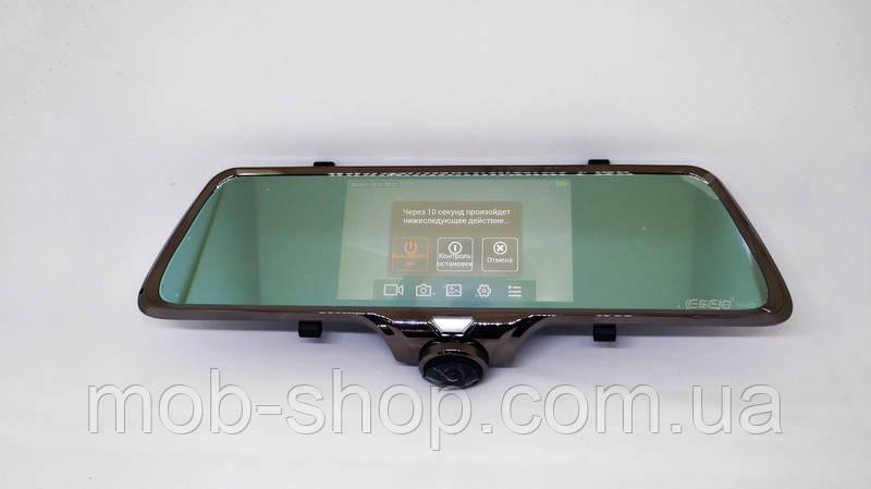 Автомобильный регистратор-зеркало DVR A66 Full HD + камера заднего вида