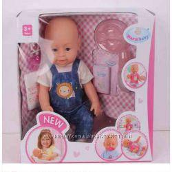 Пупс функціональний Warm baby 8007-432, Розмір упаковки: 37,5 x 35,5 x 18 см