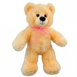 Мишка Тедди персиковый, 50 см
