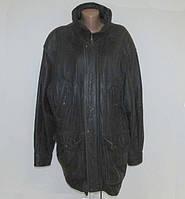 Куртка кожаная DONAR Fashion, XXL-3XL, сост. Отличное!
