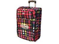 Легкий тканевый чемодан среднего размера на 2-х колесах Foxy Line Morena