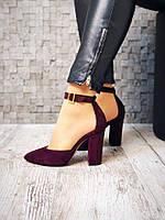 Шикарные туфли Olimpia из натуральной замши