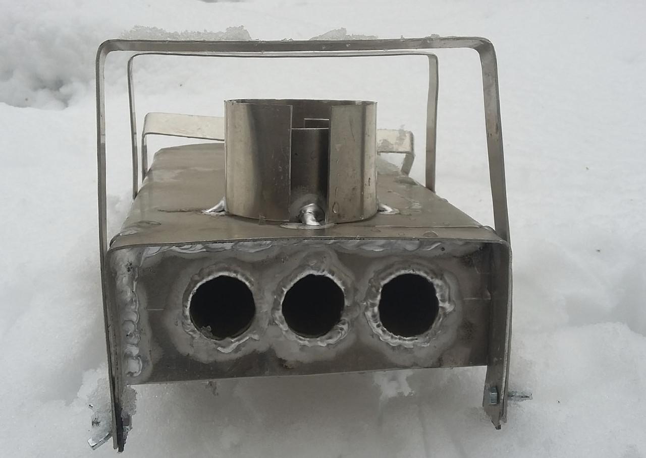 Газовый обогреватель с теплообменником в палатку Паяный теплообменник Машимпэкс (GEA) GNS 500 Находка