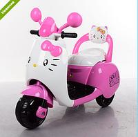 Детский мотоцикл  M 3563 BR-8 розовый Hello Kitty***