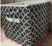 Ящик складной для игрушек, короб для книг, одежд и пр.  Фреска