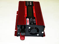 Инвертор преобразователь напряжения Power Inverter UKC KC-500D 500W с LCD дисплеем, фото 5