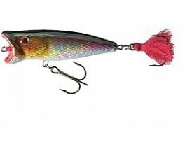 Воблер Jaxon HS Popper 7cm цвет O, вес 9g загл. 0m  плав.
