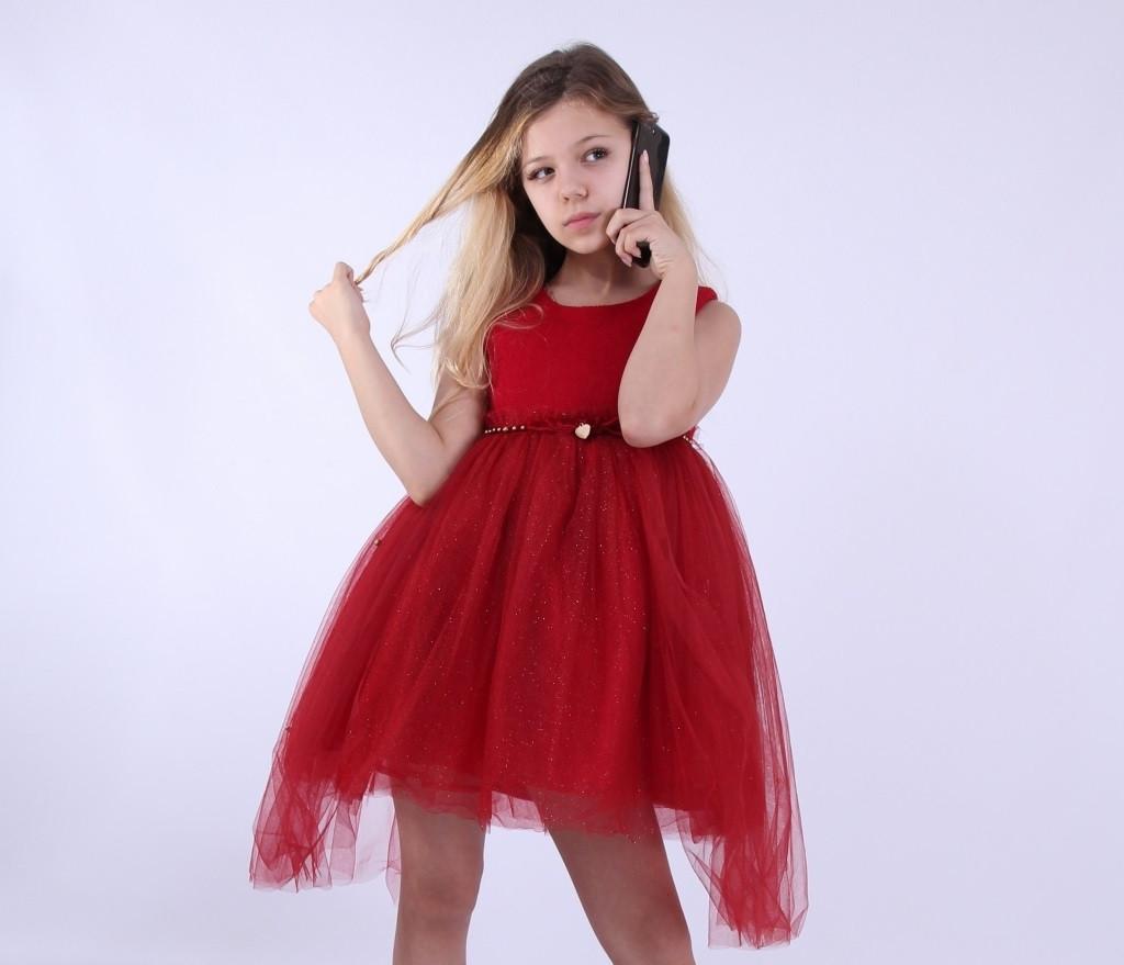 Детское нарядное платье  для девочки Грейс, размеры 100-140