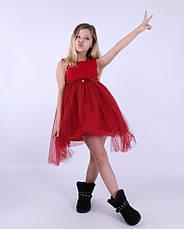 Детское нарядное платье  для девочки Грейс, размеры 100-140, фото 3